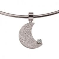 Moon zirconia silver
